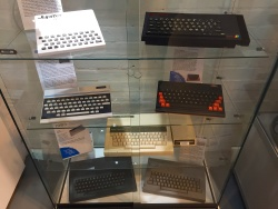 A mix of old computers